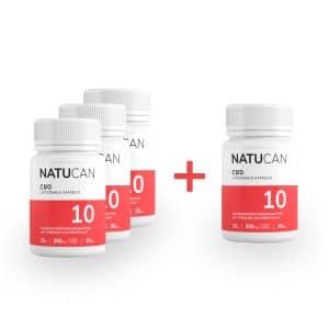 [4 für 3 Aktion] Liposomale CBD-Kapseln mit 10mg Vollspektrum-Extrakt